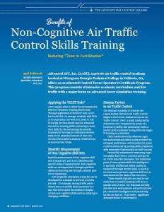 Non-Cognitive Air Traffic Control Skills Training